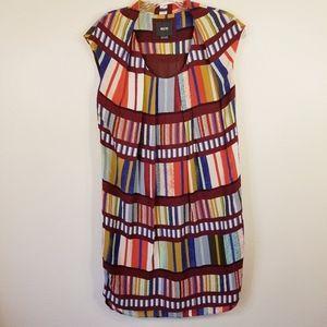 Maeve Size 0 Dress Multicolor